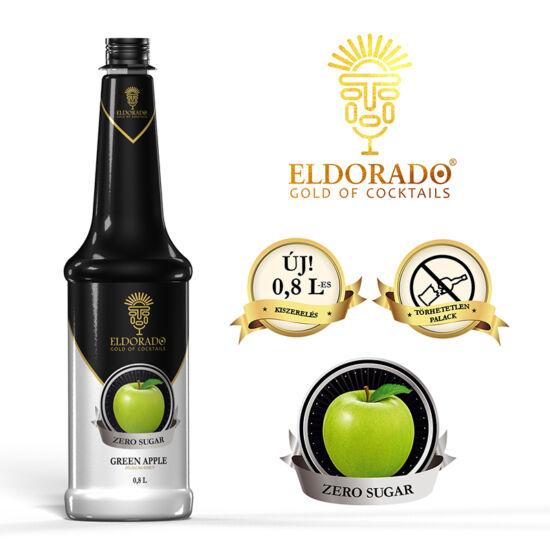 Eldorado Zöldalma zero cukormentes szirup 0.8 liter