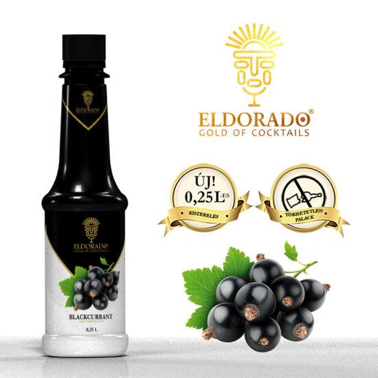 Eldorado Feketeribizli szirup 0.25 liter