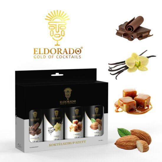 Eldorado Kávé szett 4x120 ml ( Csokoládé, Vanília, Karamell, Mandula)