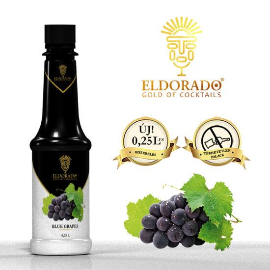 Eldorado Kékszőlő szirup 0.25 liter