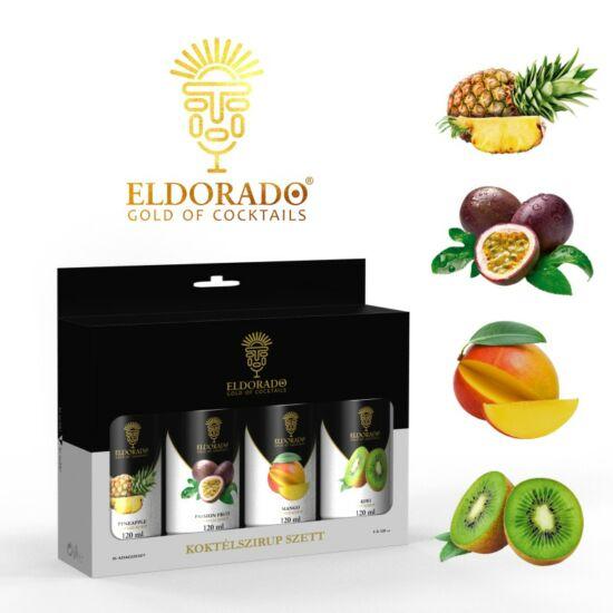 Eldorado Limonádé szett Trópusi ízek 4x120 ml (Kivi, Mangó, Maracuja, Ananász)