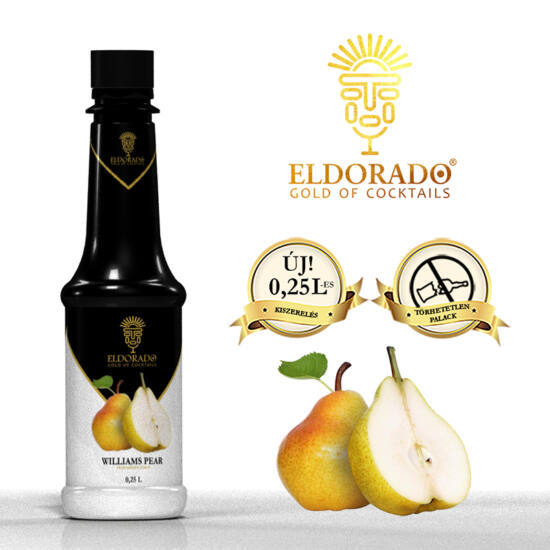 Eldorado Vilmoskörte szirup 0.8 liter